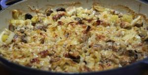 Mushroom, Leek & Fennel Bake
